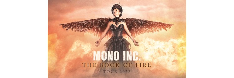 MONO INC. The Book of Fire Tour 2021