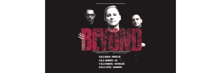 Beyond Obsession Monopop Tour 2020