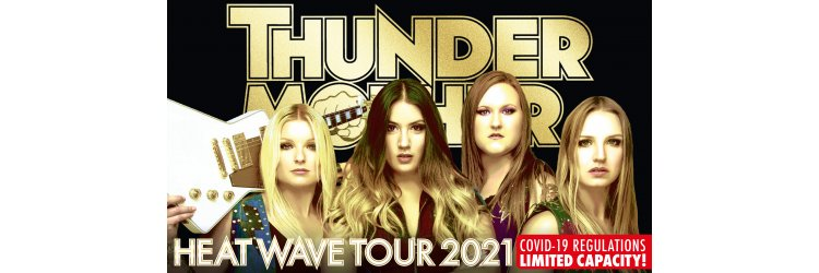 Thundermother Heat Wave Tour 2020
