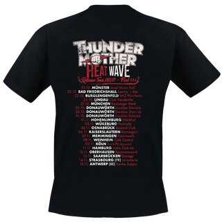 Thundermother - Tour T-Shirt Heatwave Release Tour III