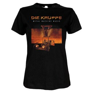 Girly-Shirt - Die Krupps - Metal Machine Music Tour 2015