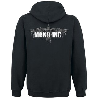 Hooded zip MONO INC. Raven Vintage