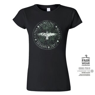 Girl-Shirt MONO INC. Raven Circle