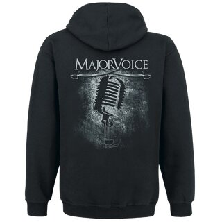 Zipped hoodie MajorVoice Vocals