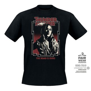 T-Shirt Thundermother The Road Is Ours