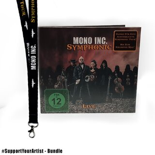 #SupportYourArtist Exklusiv -  MONO INC. - Symphonic Live 2CD/DVD + Tour Lanyard